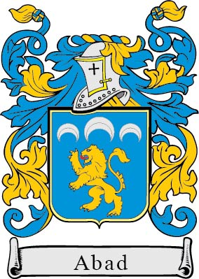 Abad family crest