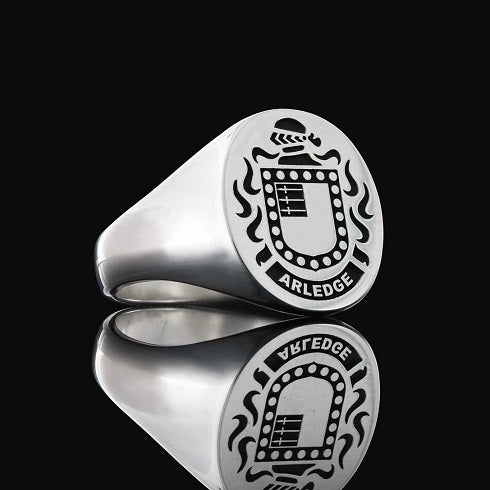 Arledge family crest ring