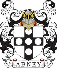 Abney family crest