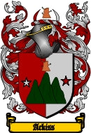 Ackiss family crest