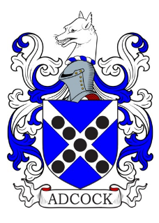 Adcock Family Crest