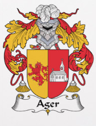 Ager family crest