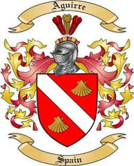 Aguirre family crest