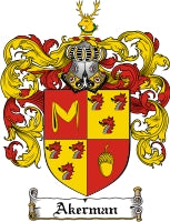 Akerman Family Crest