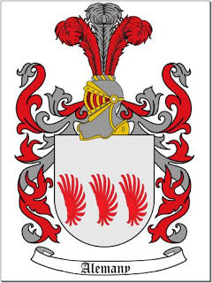 Alemany family crest