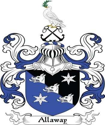 Allaway family crest