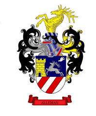 Alleman family crest