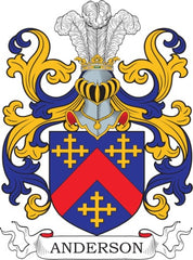 Anderson family crest