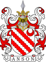 Anson family crest