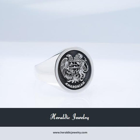Armenia family crest ring
