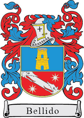 Bellido family crest