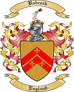 Babcock family crest