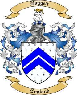 Baggett family crest