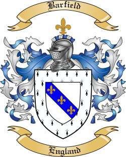 Barfield family crest