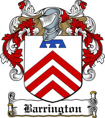 Barrington family crest