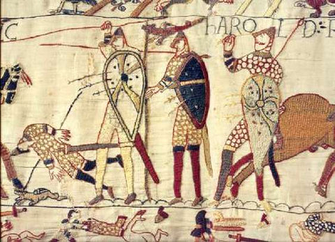 Bayeux tapestry, the death of Harold