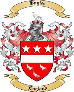Bayles family crest