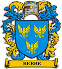 Beebe family crest