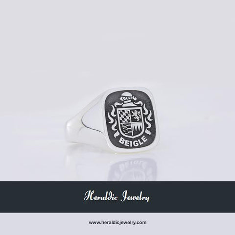 Bavaria family crest ring