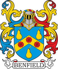 Benfield family crest