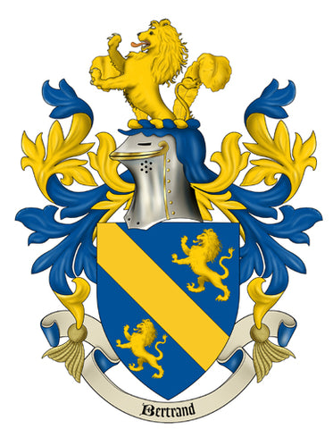 Bertrand Family Crest