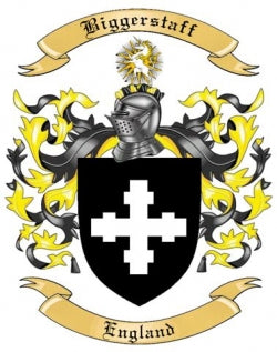 Biggerstaff family crest