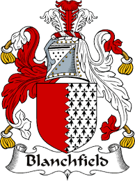 Blanchfield family crest