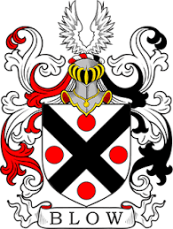 Blow family crest