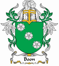 Boom family crest