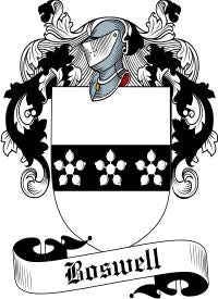 Boswell family crest