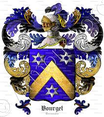 Bourget family crest