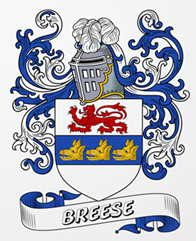 Breese family crest