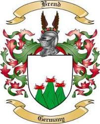 Brend family crest