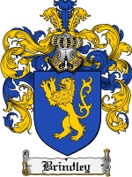 Brindley family crest
