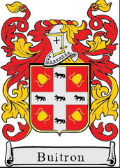 Buitron Family Crest