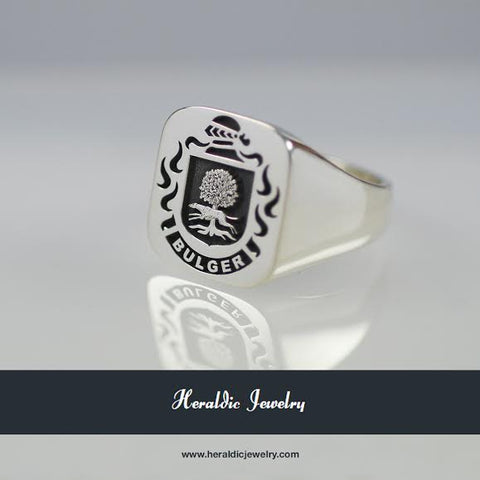 Bulger family crest ring