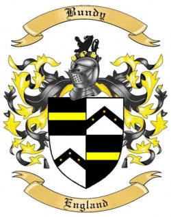 Bundy family crest