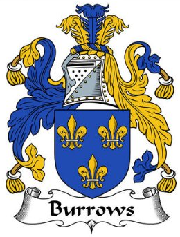 Burrows family crest