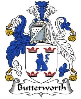 Butterwoth family crest