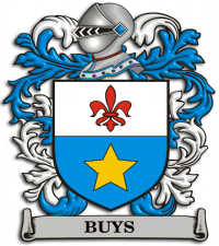 Buys family crest