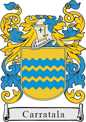 Carratala family crest