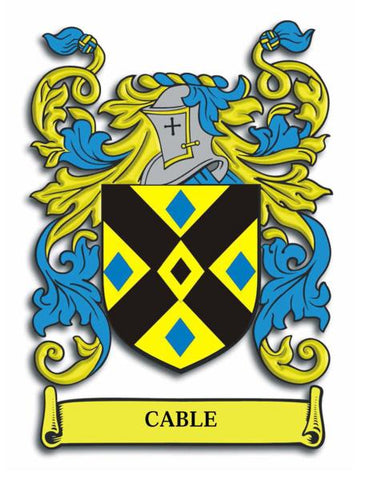 Cable family crest