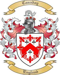 Canaday family crest