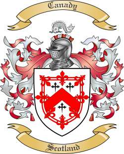 Canady family crest