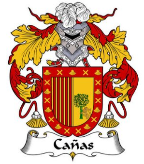 Canas family crest