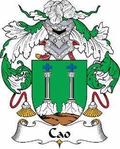 Cao family crest