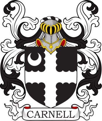 Carnell family crest