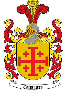 Carpintero family crest