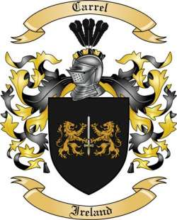 Carrel family crest