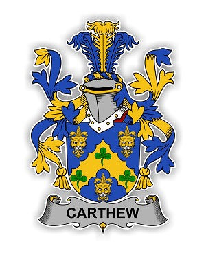 Carthew family crest
